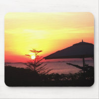 The Beauty of the Sunset View Mousepad (<em>$12.95</em>)