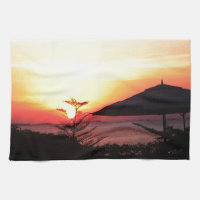 The Beauty of the Sunset View Towels (<em>$17.95</em>)