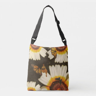 The Beauty Of The World Vintage Collage Crossbody Bag