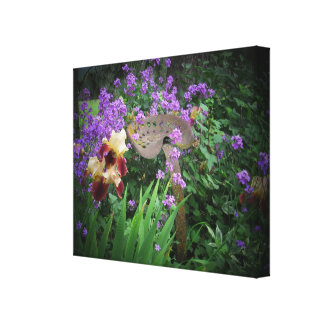 The Beauty Seat Flower Bed Canvas Print