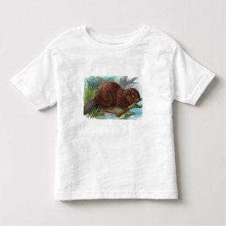 """The Beaver"" Vintage Illustration Tshirt"