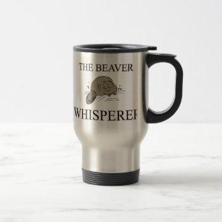 The Beaver Whisperer Travel Mug
