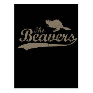 THE BEAVERS POST CARDS