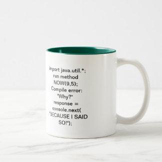 The Because Method Two-Tone Coffee Mug