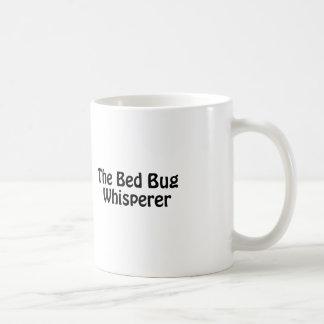 the bed bug whisperer coffee mug