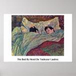 The Bed By Henri De Toulouse-Lautrec Posters
