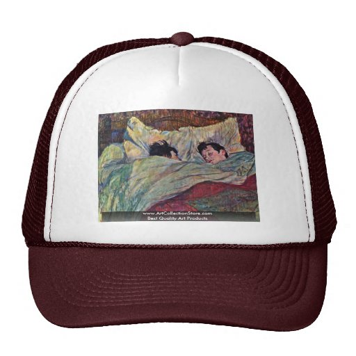 The Bed,  By Toulouse-Lautrec Henri Trucker Hat