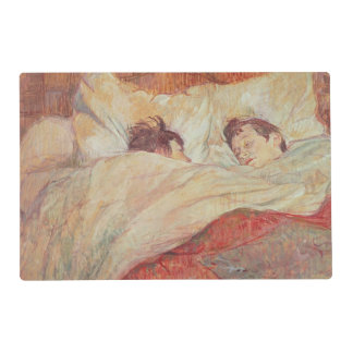 The Bed, c.1892-95 Laminated Place Mat