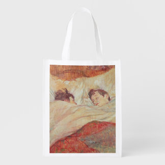 The Bed, c.1892-95 Reusable Grocery Bag