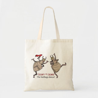 The bedbugs dance! canvas bags