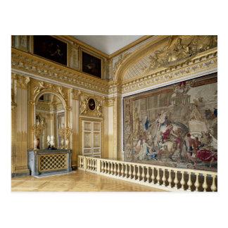 The bedchamber of Louis XIV Postcard
