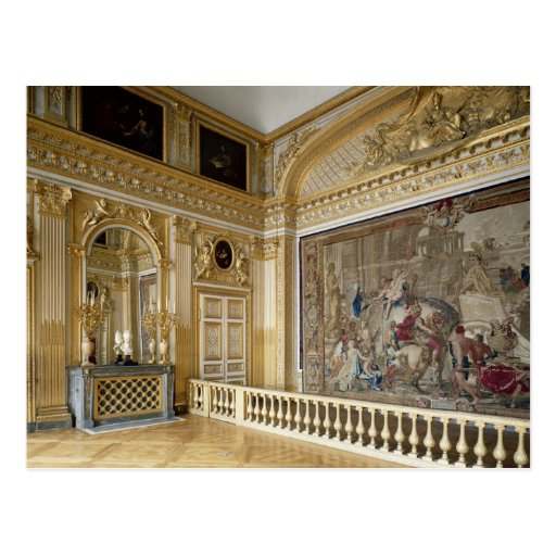 The bedchamber of Louis XIV Postcards