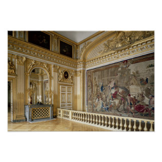 The bedchamber of Louis XIV Poster
