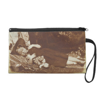 The Bedfellows, c.1843-47 (salted paper print from Wristlet Clutches