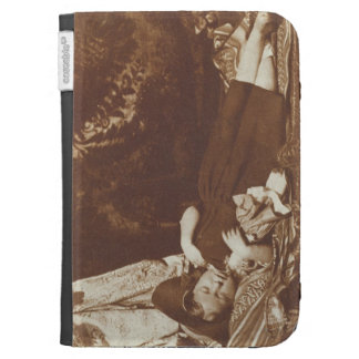 The Bedfellows, c.1843-47 (salted paper print from Cases For The Kindle