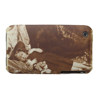 The Bedfellows, c.1843-47 (salted paper print from iPhone 3 Covers