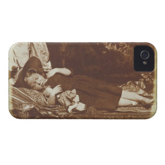 The Bedfellows, c.1843-47 (salted paper print from iPhone 4 Cover