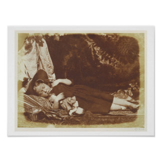 The Bedfellows, c.1843-47 (salted paper print from