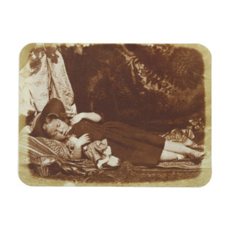 The Bedfellows, c.1843-47 (salted paper print from Flexible Magnet