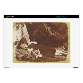 The Bedfellows, c.1843-47 (salted paper print from Decals For Laptops