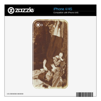 The Bedfellows, c.1843-47 (salted paper print from Skin For iPhone 4