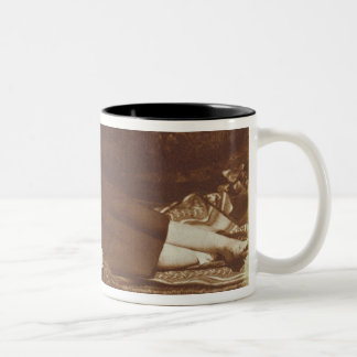 The Bedfellows, c.1843-47 (salted paper print from Two-Tone Coffee Mug