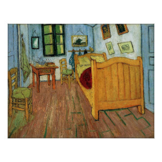 The Bedroom at Arles Poster