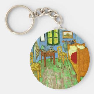 The Bedroom at Arles, Van Gogh Keychain