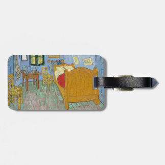 The Bedroom by Vincent Van Gogh Bag Tag