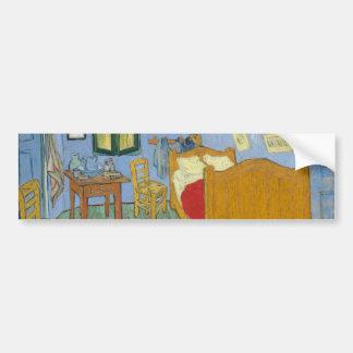 The Bedroom by Vincent Van Gogh Bumper Sticker