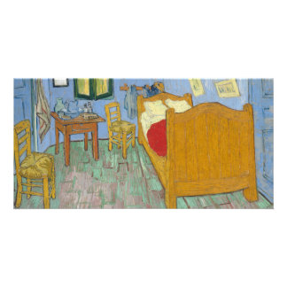 The Bedroom by Vincent Van Gogh Card