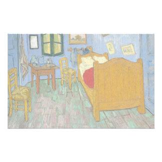 The Bedroom by Vincent Van Gogh Flyer