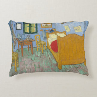 The Bedroom by Vincent Van Gogh Accent Pillow