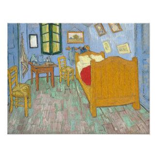 The Bedroom by Vincent Van Gogh Photo Print