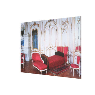 The Bedroom of Elizabeth of Bavaria Canvas Print