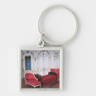 The Bedroom of Elizabeth of Bavaria Keychain
