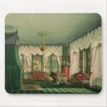 The Bedroom of Elizabeth of Bavaria Mouse Pads