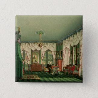The Bedroom of Elizabeth of Bavaria Pinback Button