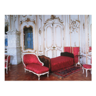 The Bedroom of Elizabeth of Bavaria Postcard