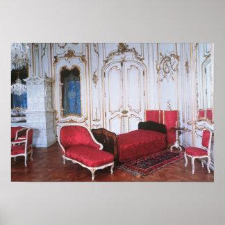 The Bedroom of Elizabeth of Bavaria Poster. Bedroom Posters   Zazzle