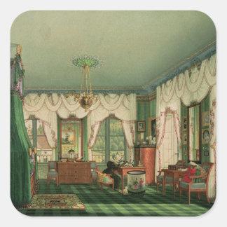 The Bedroom of Elizabeth of Bavaria Sticker