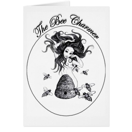 The Bee Charmer note card