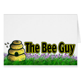 the bee guy card