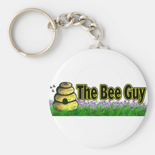 the bee guy keychain