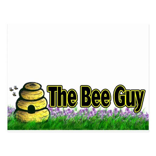 the bee guy postcards