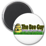 the bee guy refrigerator magnet