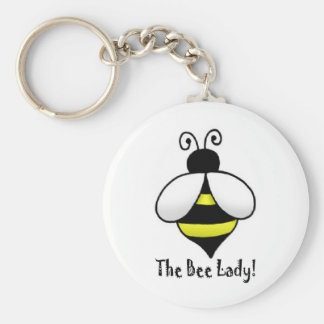 The Bee Lady Keychain