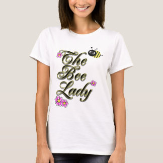 the bee lady large print T-Shirt