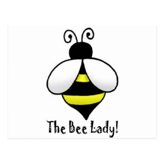 The Bee Lady Postcard