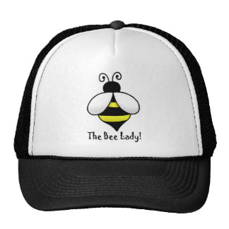 The Bee Lady Trucker Hat